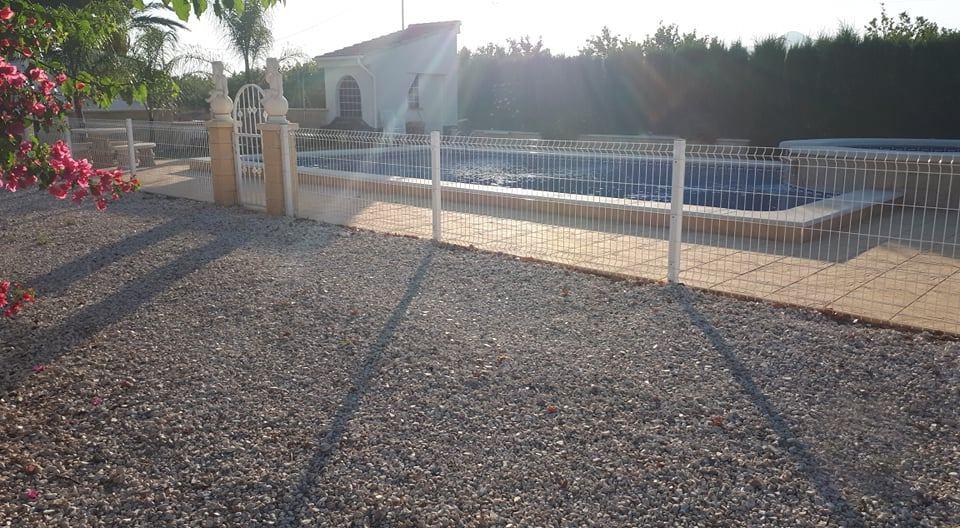 Albatera Mobile Home Park Petanca Fenced Pool