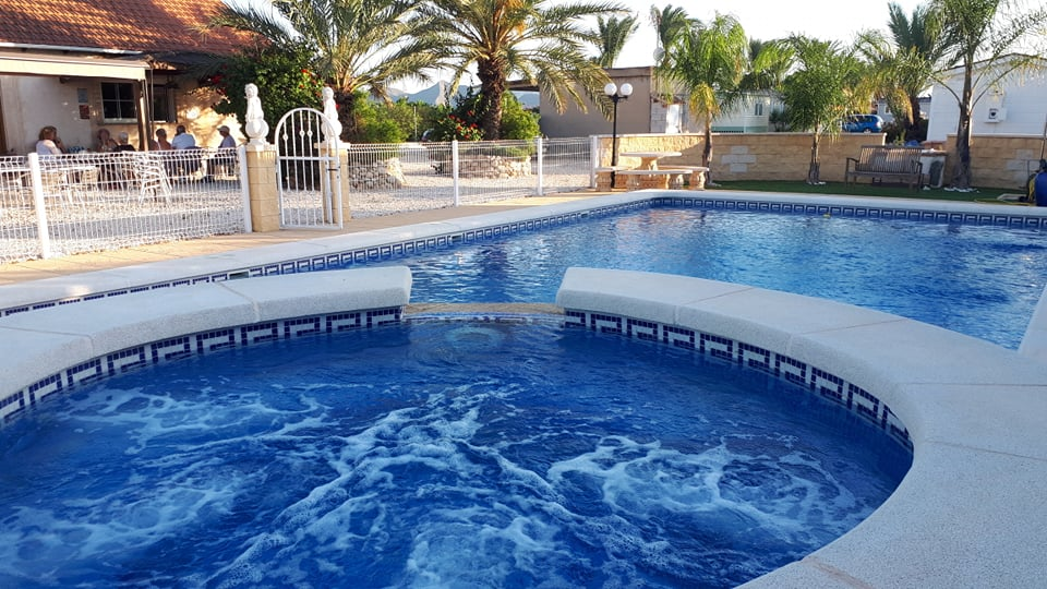 Enjoy the Jacuzzi after your swim